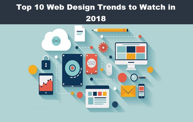 Top 10 Web Design Trends to Watch in 2018