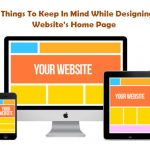 9 Things To Keep In Mind While Designing Website's Home Page