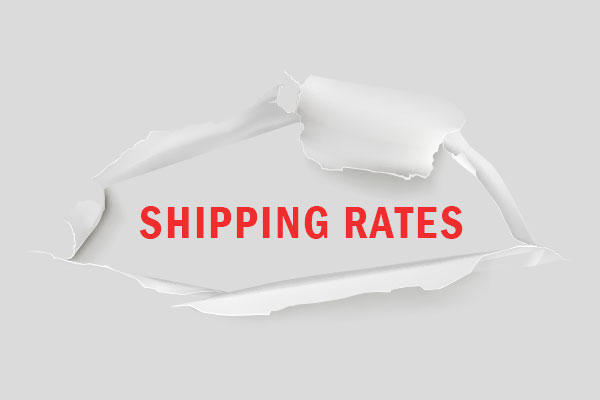 Transparent shipping rates