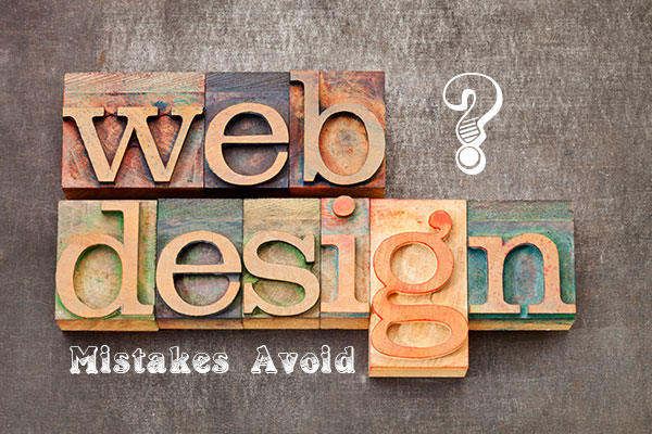 Top webdesign mistakes you should avoid